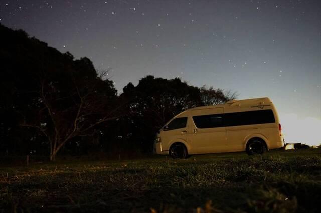 【キャンピングカーで車旅 vol.4】星空を探しに~成田ゆめ牧場(1泊2日)~