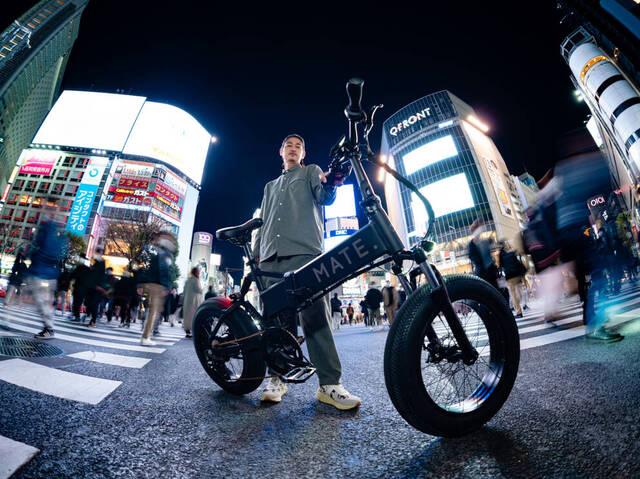 欧州の最強e-Bike「MATE. BIKE」が日本上陸!世界初の旗艦店が東京・恵比寿にオープン!